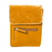 SoNize Velvet travel bag mustard