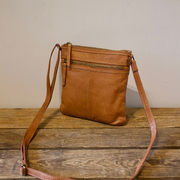 Soft leather bag S cognac House of Sajaco