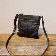 Soft leather bag S black House of Sajaco