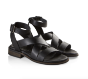 Joana black sandal Pavement