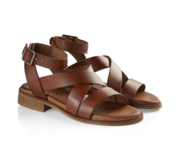 Joana tan sandal Pavement