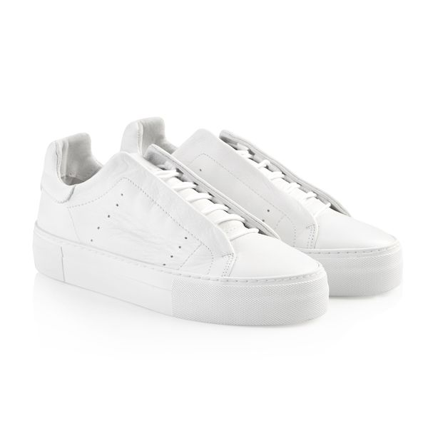 Vivi white leather sneaker Pavement